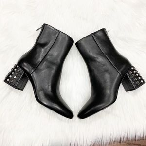 New Ash Black Leather Boots